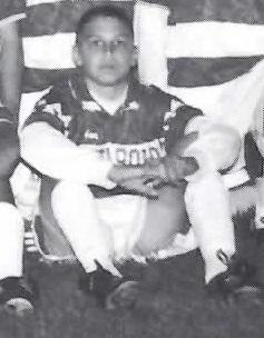Cameron as a freshman on the 2000 AHS Boys' Soccer Team. (AHS File Photo)